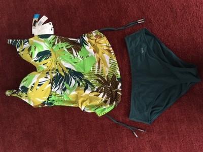 61a1cde33e8915 Tankini, strój kąpielowy FEBA rozm. 44C - 6760795759 - oficjalne ...