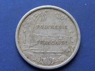 Polinezja Francuska 1 frank 1965