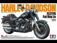 1/6 Harley-Davidson FLSTFB Fat Boy Lo Tamiya 16041