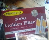 Gilzy na tytoń Golden Filter 0,5