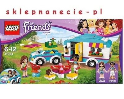 Lego Friends 41034 Samochód Z Przyczepą Kempingową 6696802293