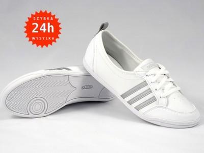 baleriny adidas białe damskie