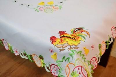 Obrus Wielkanocny 130x180 Swieta Wielkanoc Kurczak 6743534522 Oficjalne Archiwum Allegro