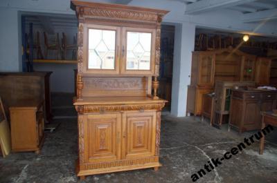 A C Stary Rzezbiony Kredens Eklektyczny 120cm 025 6022429360 Oficjalne Archiwum Allegro