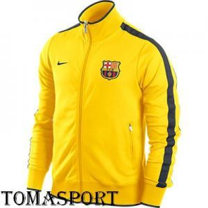 Bluza Nike FCB Barcelona Żółta rozmiar M