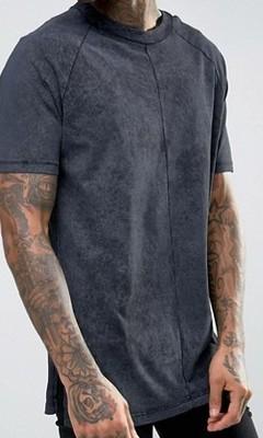koszulka nieregularne barwy długa L