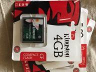 Karta Compact Flash CF 4 GB !!!