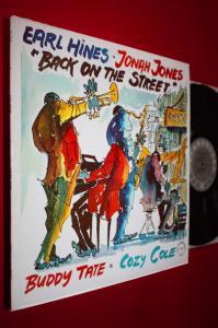 EARL HINES/EARL HINES/BUDDY TATE/COZY COLE LP/f128