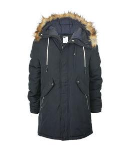 zimowa kurtka męska długa