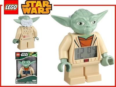 LEGO Star Wars - Yoda - Budzik Figurka ZEGAR Joda