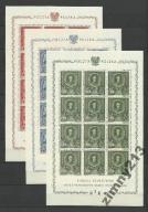 1860-1944 DROGI ZBIÓR BLOKI 1, 6, 9, 11, ARK KEN