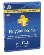 PLAYSTATION PLUS 365 DNI PSN 12 M-CY AUTOMAT 24/7