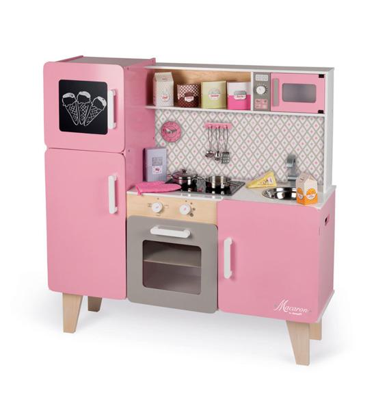 Kuchnia Drewniana Rozowa Dla Dzieci Xl Z Dzwiekiem 7051321402