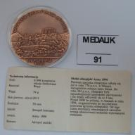 Medal olimpijski Ateny 1896 BCM(91m)