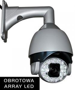SPEED DOME kamera OBROTOWA 650 TVL zoom 30 IR noc