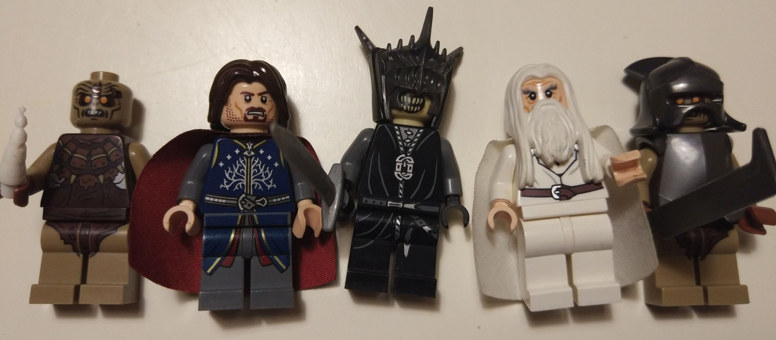 Lego Lord Of The Rings 79007 Bitwa Hobbit Postacie 7016079107 Battle At Black Gate