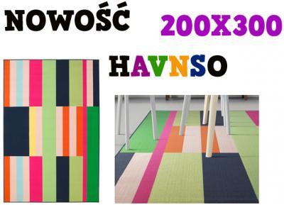 Nowość Dywan Z Krótkim Włosiem 200x300 Ikea Havnso