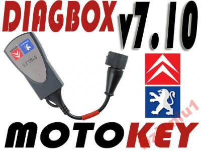 Lexia diagbox V7.10 Jakość Citroen Peugeot Full gw