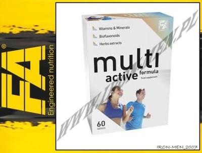 FA Nutrition Multi Active Formula 60tab