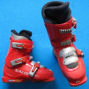 buty NARCIARSKIE SALOMON 23,0 36,0 używane W CH 6065873390