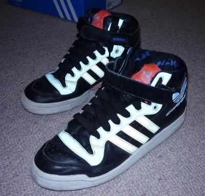 Buty Adidas FORUM MID RS XL czarne 46 i 23 28,8cm