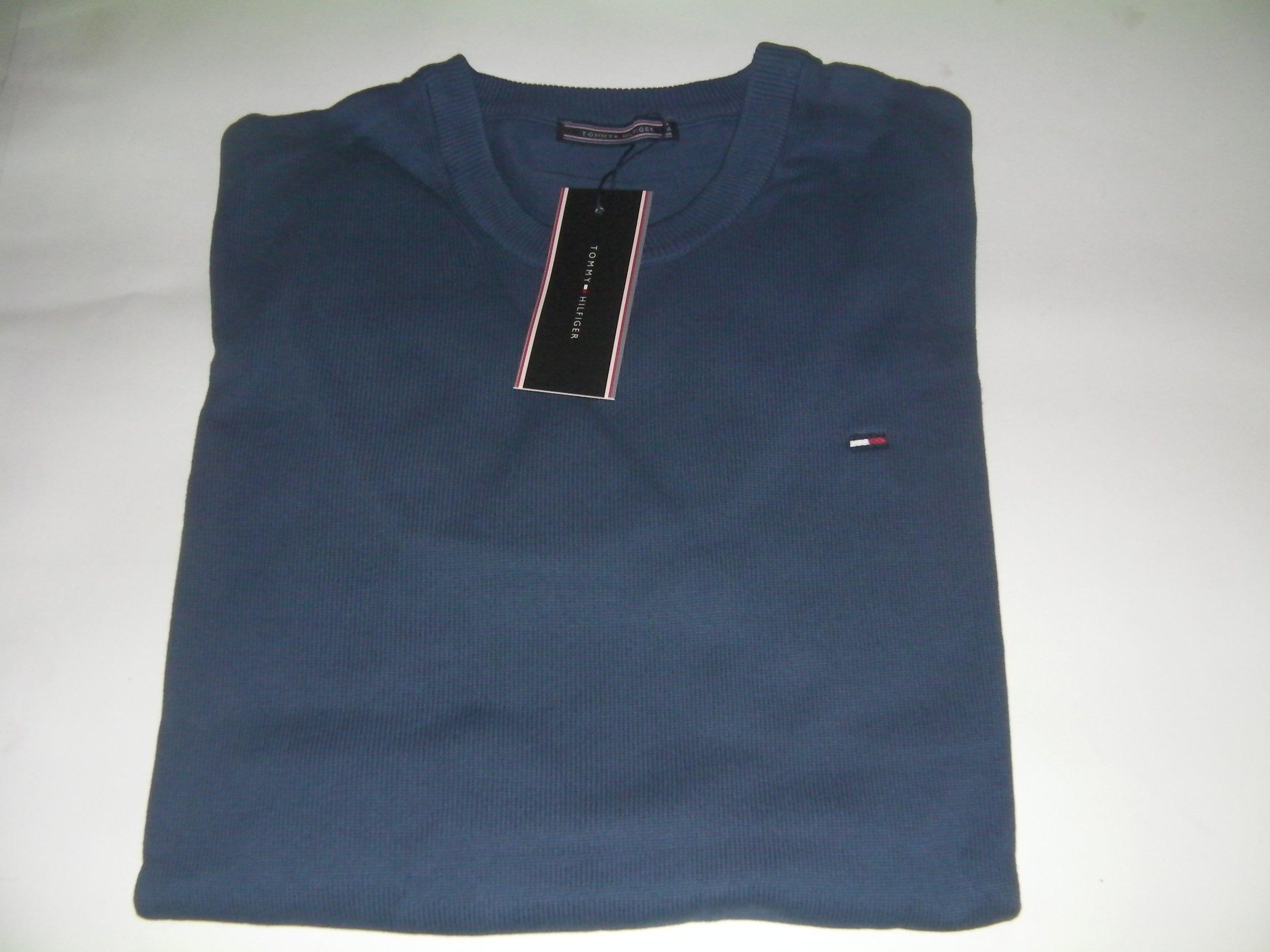 93541d41ecc09 tommy hilfiger sweter ciemny niebieski XXL - 7064925675 - oficjalne ...