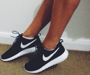 Nike Roshe Run Czarne Damskie 36 40 5940598510 Oficjalne Archiwum Allegro