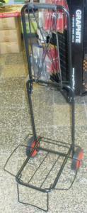 Solidny wózek bagażowy transportowy wózki składany