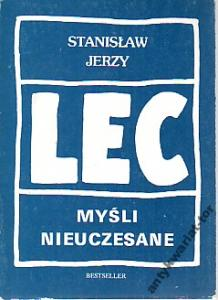 Myśli Nieuczesane Stanisław Jerzy Lec Aforyzmy 3407040501
