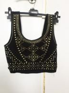 Gorset / bralet / crop top dżety new look