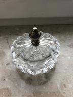 Srebro pr 800 kryształowa bomboniera puzderko