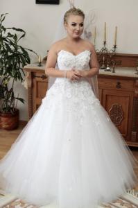 Suknia ślubna Agora Model 13 61 Biała 5147386186 Oficjalne