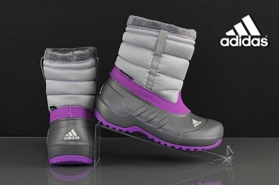 Zimowe buty dziecięce Adidas Winterfun Girl G62875