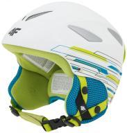Kask narciarski Dziecięcy 4F KSU0001 Lime S 55-56