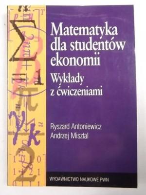 matematyka dla studentów ekonomii wykłady z ćw