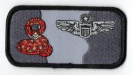 Command Pilot Wings Name Tag U.S.Air Force