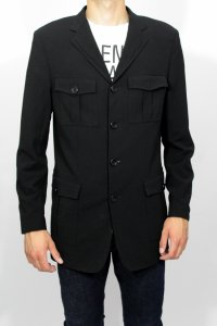 a812ce482ac95 Hugo Boss płaszcz czarna marynarka wizytowa L - 6303343214 ...