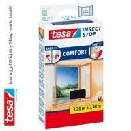 Moskitiera okienna tesa Comfort 1,2m x 2,4m czarna