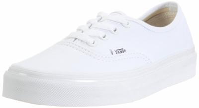 vans authentic białe