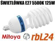 Świetlówka studyjna światła stałego 125/600W 5500K