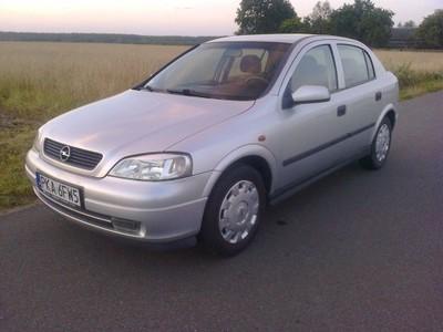Opel Astra G, 1,6 8V 75KM 1998r. Bogato wyposażona