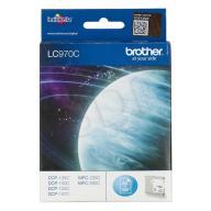 Tusz Brother niebieski LC970C=LC-970C, 300 str.