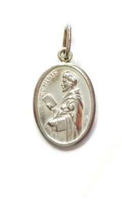 Srebrny Medalik Sw Dominik Etui Gratis 6380241896 Oficjalne Archiwum Allegro