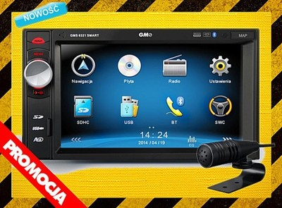 GMS 6321 SMART USB/NAV/BT/GPS + Pendrive 16GB