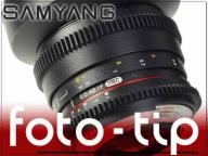 Obiektyw wideo Samyang 14mm T3.1 - Canon EOS 7D