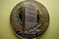 1000 SHILLINGS UGANDA -50 ROCZNICA ONZ- PROOF -UNC