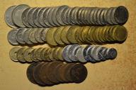 Hiszpania - 80 monet mało powtórek - BCM