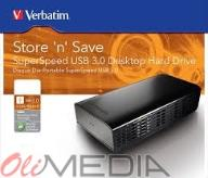 Verbatim Store'n'save Superspeed USB 3.0 3TB NOWY