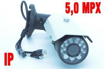 5 MPX kamera IP 2592x1920 zewnetrzna PoE ONVIF noc