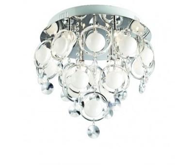 Lampa plafon KOSMA kryształ kermazyt śr.38cm